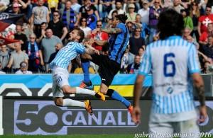 Gioca due minuti dopo due mesi, ma trova comunque  il tempo per spezzare la noce del capocollo a De Vitis volteggiando come Nureyev...Bentornato Tabanelli!