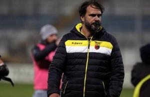 Luca-DAngelo-allenatore-Casertana-Lapresse