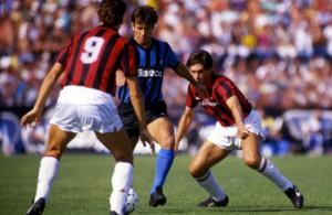 Pisa-Milan 1-3 Dunga tra Van Basten e Ancelotti